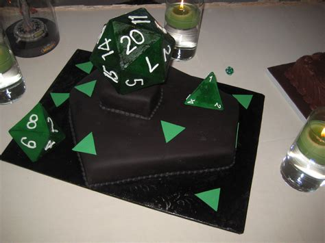 d20 groom's cake | This critical hit of deliciousness was
