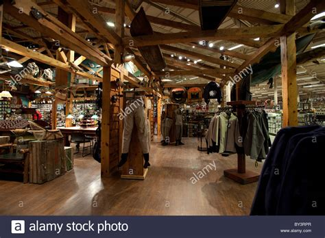 Hunting gear in Outdoor World retail store in Vaughan