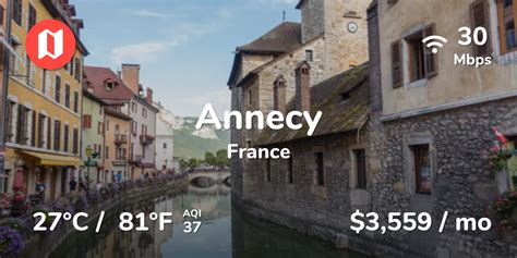 Cost of Living in Annecy