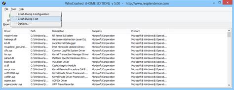 Download WhoCrashed Home Edition 6