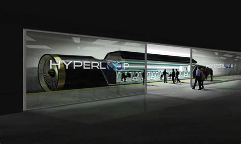 Hyperloop One, le train supersonique californien est déjà