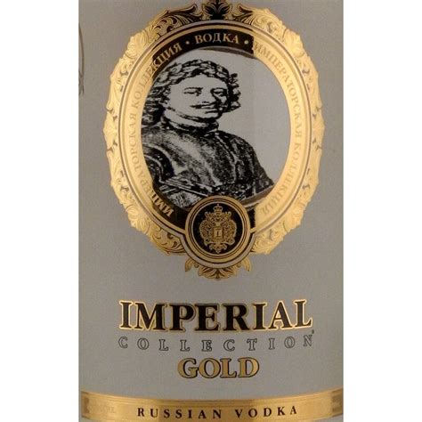 Imperial Collection Gold Vodka 0,7L 40%, 17,90