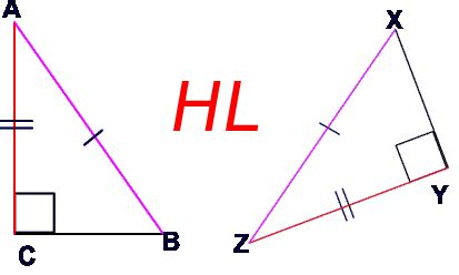 Pictures of hypotenuse leg