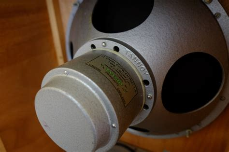 """Tannoy Monitor Silver 12"""" - Le forum Audiovintage"""
