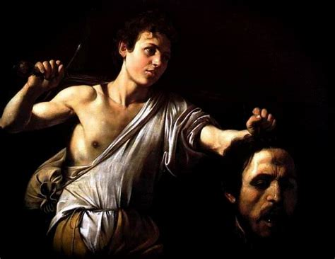 MERISI dit Le Caravage, David with the Head of Goliath