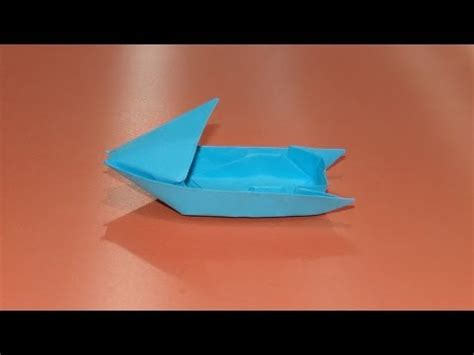 How To Make An Origami Motorboat - Boat 03 - YouTube