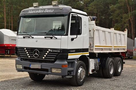Camion Mercedes benne Actros 4141 8x4 Euro 3 occasion