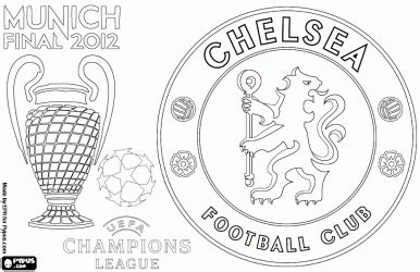 chelsea logo in drawing | Le Coloriage Lionel Messi Pour