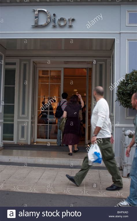 Paris, France, People Going in to Luxury Boutique
