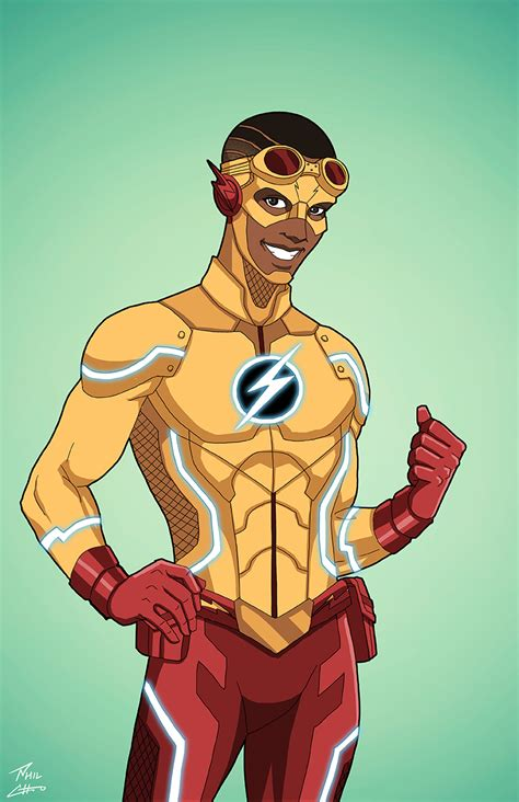 What if Wallace West/new 52 Kid Flash/ Black Wally West