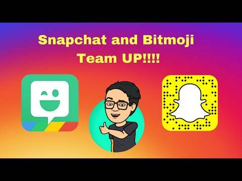 How To Add 3-D Bitmojis To Snapchat With World Lens For