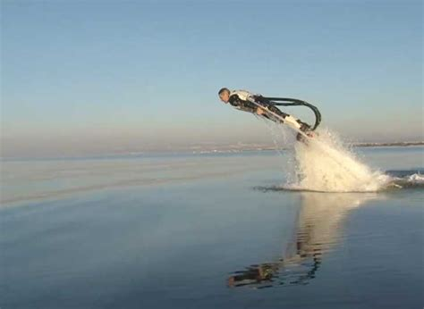 VIDEO: Amazing Water Powered Rocket Boots Will Send You